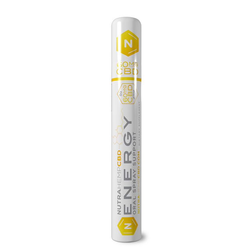 NutraHempCBD Energy Oral Support Single Pack