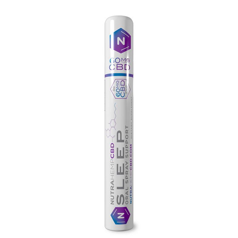 NutraHempCBD Sleep Oral Support Spray Single Pack