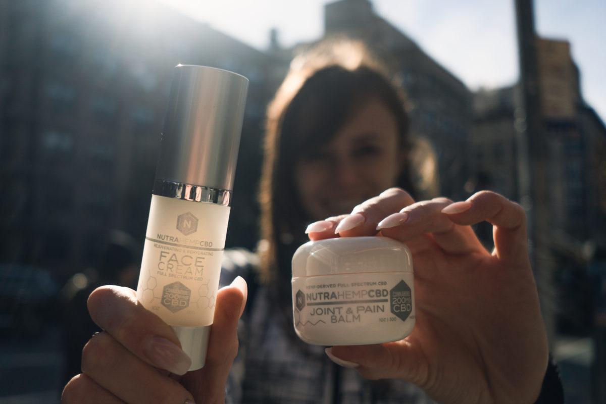 NutraHempCBD Rejuvenating & Rehydrating Face Cream