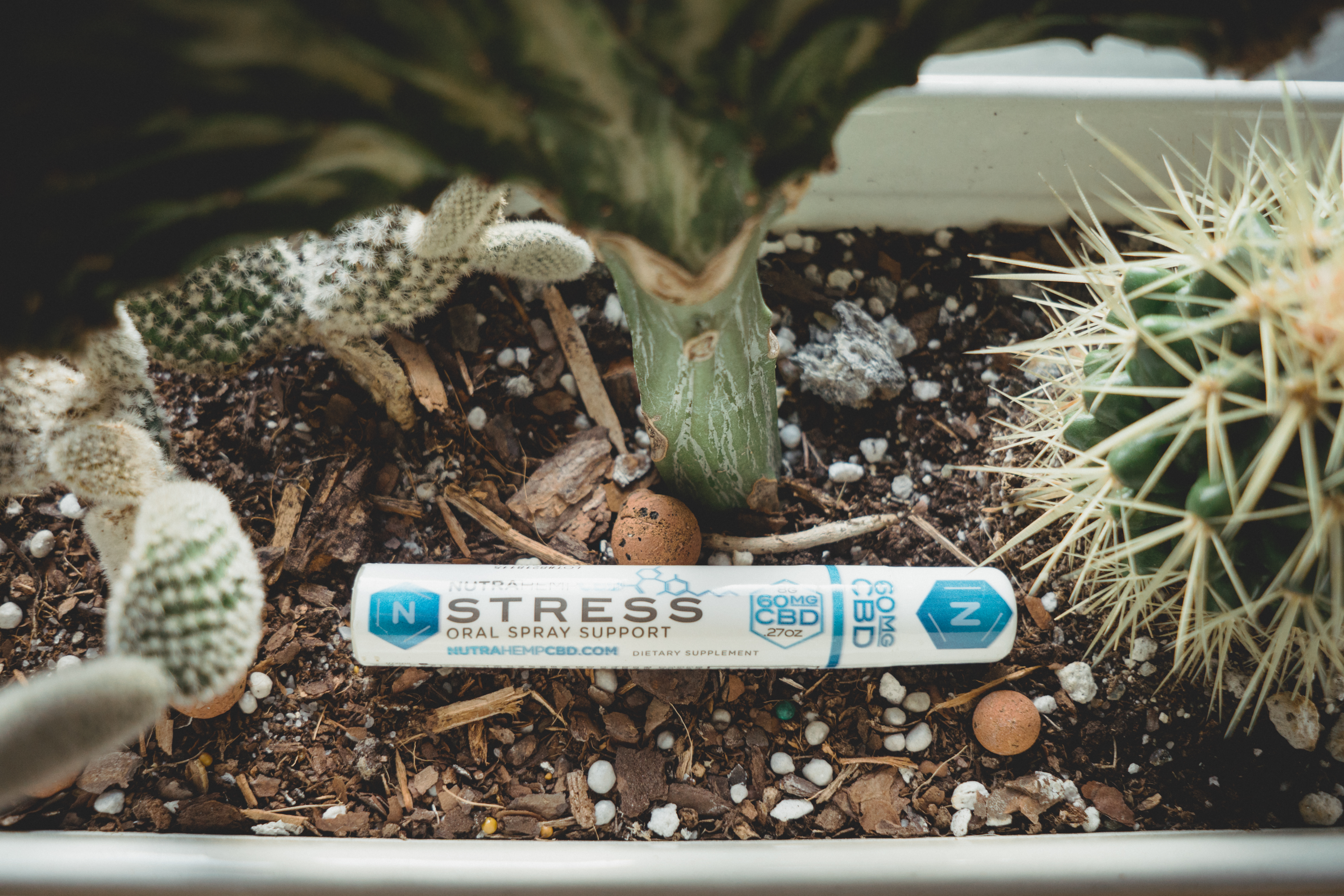NutraHempCBD Stress and Pain Oral Spray Support
