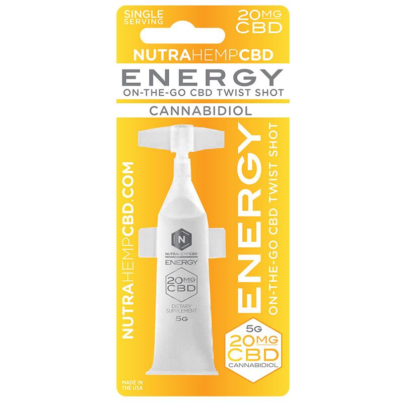 NutraHempCBD Energy Twist