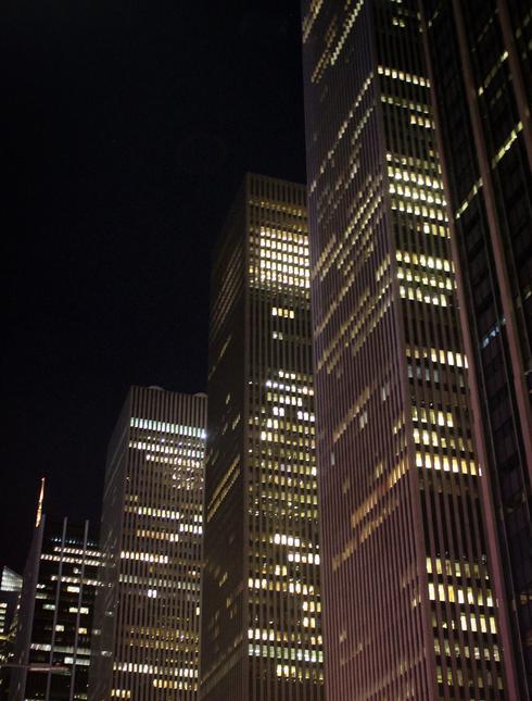 Skyscrapers of New York City, USA