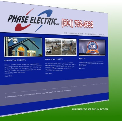PhaseElectric.ca website