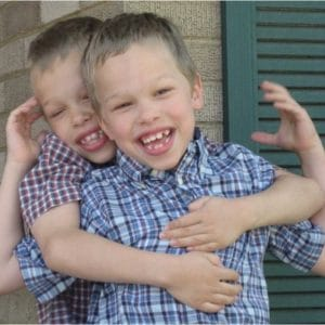 Peter & Grant - Twin grandsons of the co-founders of ASD Ascend