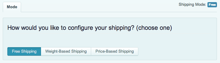 Sell with WordPress   Cart66 Shipping Options