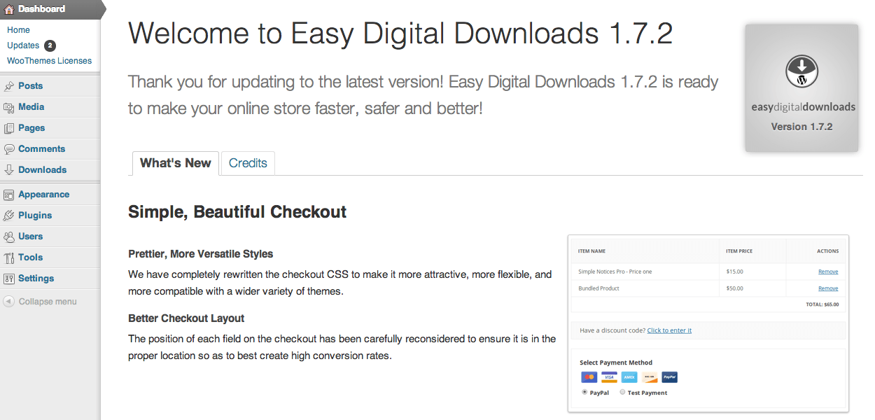 Sell with WordPress | Easy Digital Downloads Welcome