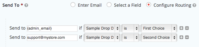 Sell with WP Gravity Forms Review | Routing Notifications based on Form Fields