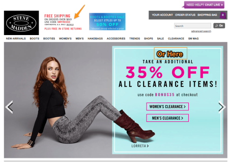 Sell with WP Effective Shipping Rates | Steve Madden Shipping Promo
