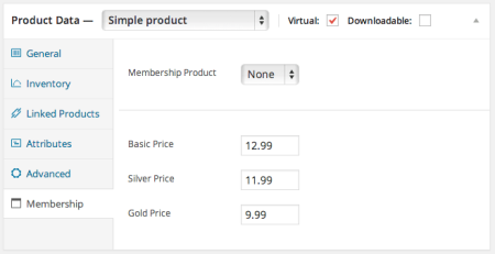 Paid Memberships Pro WooCommerce members pricing