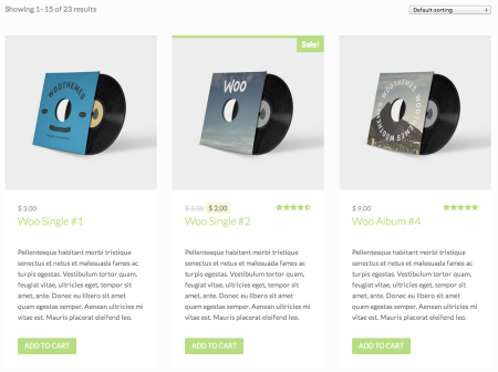 WooCommerce Themes | WooThemes: Maximize Shop page