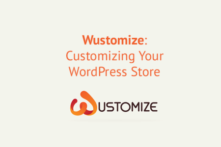 Wustomize WordPress customizations