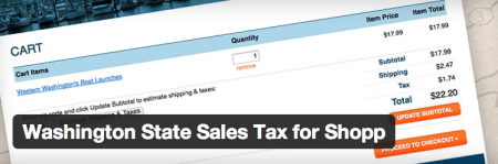 Free Shopp Addons - Washington Tax