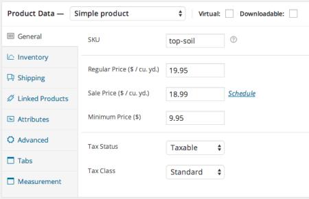 woocommerce measurement price calculator price per unit