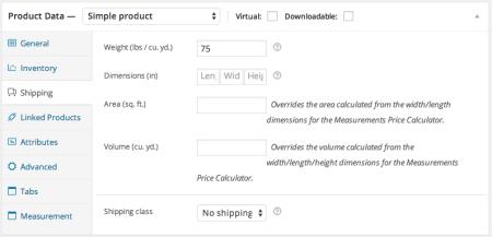 woocommerce measurement price calculator weight per unit