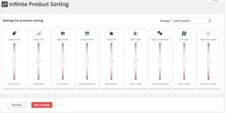 WooCommerce Infinite Product Sorting Review: Creating Sorting Rankings