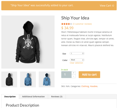 WooCommerce Theme Divi Product Page