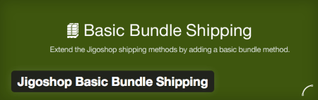 Free Jigoshop Extensions | basic bundle shipping