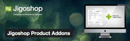 Free Jigoshop Extensions | Product Add-ons