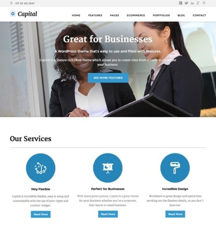 Best WooCommerce Themes | Obox Themes - Capital