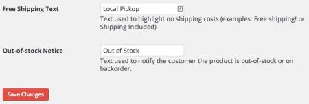 Shopp Change Free Shipping Name