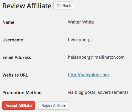 AffiliateWP Review   New Affiliate