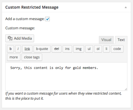 WooCommerce Easy content Restriction | Custom Restriction Messages