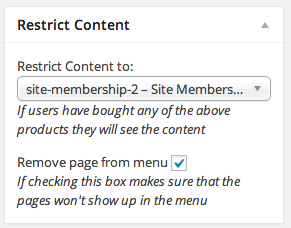 WooCommerce Easy Content Restriction | Restricting Pages
