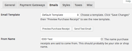 Easy Digital Downloads 2.1 Review emails