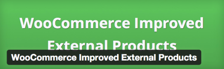 Free WooCommerce extensions | Better External products