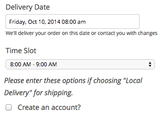 WooCommerce Order Delivery Date plugin review | Text after