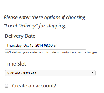 WooCommerce Order Delivery Date plugin review | Text before fields
