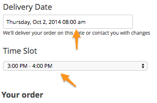 WooCommerce Order Delivery Date plugin review | choose a time format