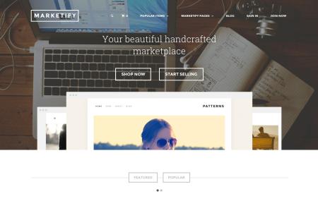 Marketify Best Easy Digital Downloads themes