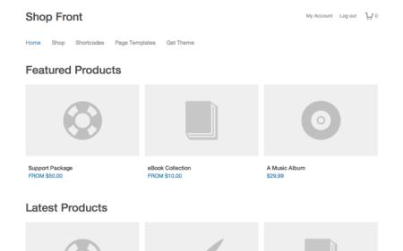 ShopFront Easy Digital Downloads Theme