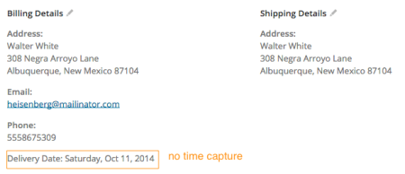 WooCommerce Order Delivery Date plugin review | No time capture