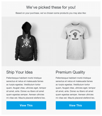 Receiptful Review: product upsell