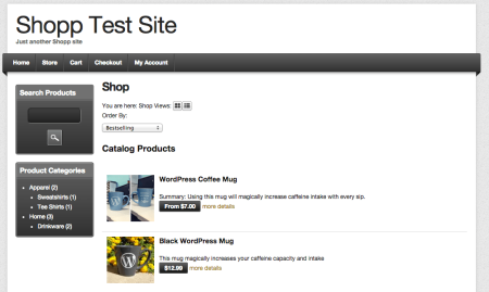 Shopp themes | Depot
