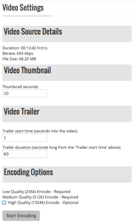 HostStreamSell Review | Video Settings