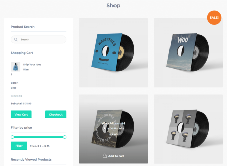 Best WooCommerce themes | Listify review: shop