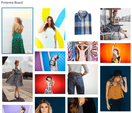 Pinterest Board Sample