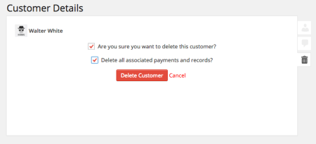 Easy Digital Downloads 2.3 Review | delete customer