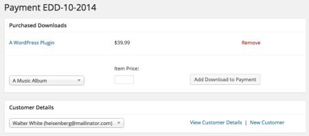 Easy Digital Downloads 2.3 Review | 2.3 Order Details