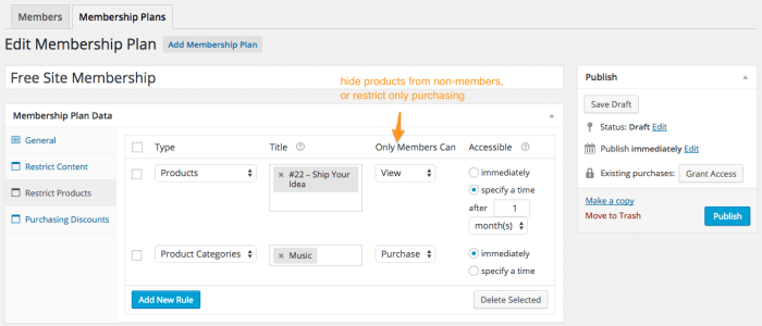 WooCommerce Memberships Review: restrict products