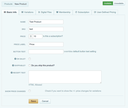 Cart66 Cloud Review: Create product