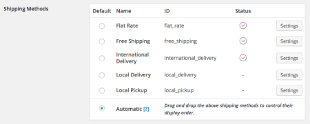 WooCommerce 2.4 Review: 2.3 shipping methods