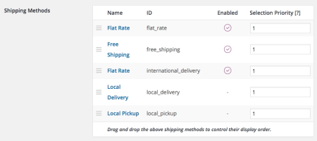 WooCommerce 2.4 Review: 2.4 shipping methods