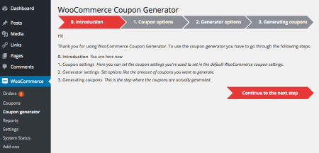 Free WooCommerce Extensions: Coupon Generator