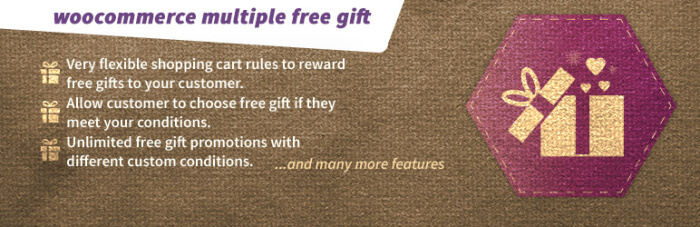 Free WooCommerce Extensions: free gift