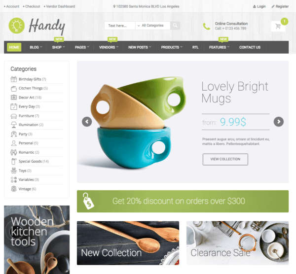 overview home handystore