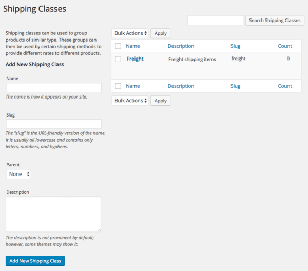 WooCommerce 2.6 Review: WooCommerce 2.5 shipping classes